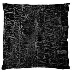 Old Black Background Large Flano Cushion Case (Two Sides)