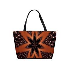 Digital Kaleidoskop Computer Graphic Shoulder Handbags by Nexatart