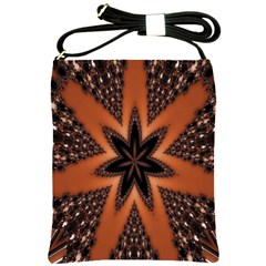 Digital Kaleidoskop Computer Graphic Shoulder Sling Bags by Nexatart