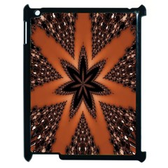 Digital Kaleidoskop Computer Graphic Apple Ipad 2 Case (black) by Nexatart