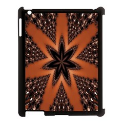 Digital Kaleidoskop Computer Graphic Apple Ipad 3/4 Case (black) by Nexatart