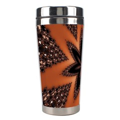 Digital Kaleidoskop Computer Graphic Stainless Steel Travel Tumblers by Nexatart