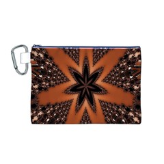 Digital Kaleidoskop Computer Graphic Canvas Cosmetic Bag (m) by Nexatart
