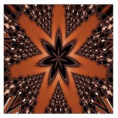 Digital Kaleidoskop Computer Graphic Large Satin Scarf (square) by Nexatart
