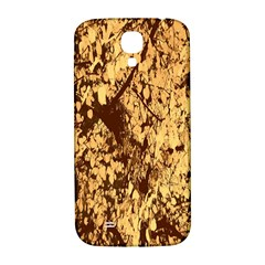 Abstract Brachiate Structure Yellow And Black Dendritic Pattern Samsung Galaxy S4 I9500/i9505  Hardshell Back Case by Nexatart
