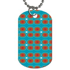 Floral Seamless Pattern Vector Dog Tag (two Sides) by Nexatart