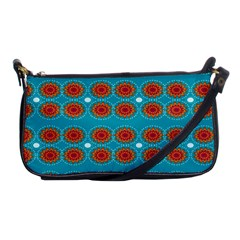 Floral Seamless Pattern Vector Shoulder Clutch Bags by Nexatart