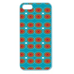 Floral Seamless Pattern Vector Apple Seamless Iphone 5 Case (color)