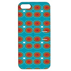 Floral Seamless Pattern Vector Apple Iphone 5 Hardshell Case With Stand by Nexatart