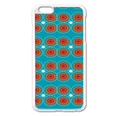 Floral Seamless Pattern Vector Apple Iphone 6 Plus/6s Plus Enamel White Case by Nexatart