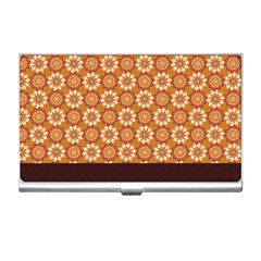 Floral Seamless Pattern Vector Business Card Holders by Nexatart