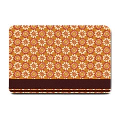 Floral Seamless Pattern Vector Small Doormat  by Nexatart