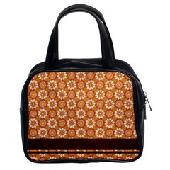 Floral Seamless Pattern Vector Classic Handbags (2 Sides) by Nexatart
