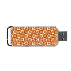 Floral Seamless Pattern Vector Portable Usb Flash (two Sides) by Nexatart