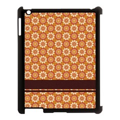 Floral Seamless Pattern Vector Apple Ipad 3/4 Case (black) by Nexatart