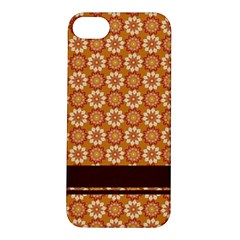 Floral Seamless Pattern Vector Apple Iphone 5s/ Se Hardshell Case