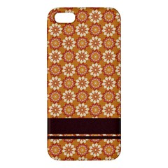 Floral Seamless Pattern Vector Iphone 5s/ Se Premium Hardshell Case by Nexatart