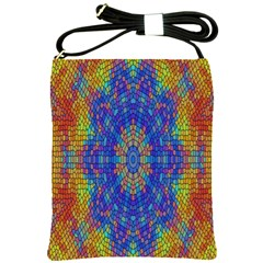 A Creative Colorful Backgroun Shoulder Sling Bags by Nexatart
