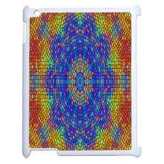 A Creative Colorful Backgroun Apple Ipad 2 Case (white) by Nexatart