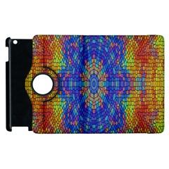 A Creative Colorful Backgroun Apple Ipad 2 Flip 360 Case