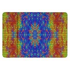 A Creative Colorful Backgroun Samsung Galaxy Tab 8 9  P7300 Flip Case by Nexatart