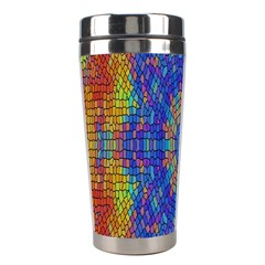 A Creative Colorful Backgroun Stainless Steel Travel Tumblers