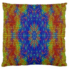 A Creative Colorful Backgroun Standard Flano Cushion Case (one Side) by Nexatart