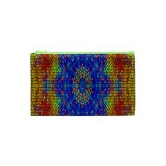 A Creative Colorful Backgroun Cosmetic Bag (xs) by Nexatart