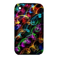 Rainbow Ribbon Swirls Digitally Created Colourful Iphone 3s/3gs by Nexatart