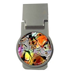 Abstract Pattern Texture Money Clips (round)  by Nexatart