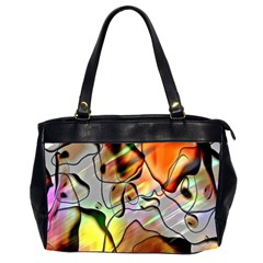 Abstract Pattern Texture Office Handbags (2 Sides)  by Nexatart