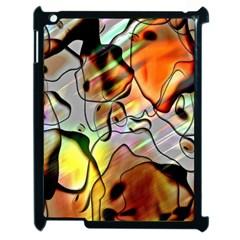 Abstract Pattern Texture Apple Ipad 2 Case (black) by Nexatart