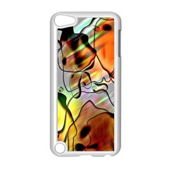 Abstract Pattern Texture Apple Ipod Touch 5 Case (white) by Nexatart