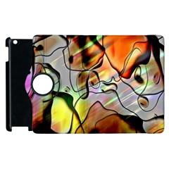 Abstract Pattern Texture Apple Ipad 2 Flip 360 Case by Nexatart