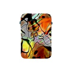 Abstract Pattern Texture Apple Ipad Mini Protective Soft Cases by Nexatart