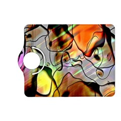 Abstract Pattern Texture Kindle Fire Hd (2013) Flip 360 Case by Nexatart