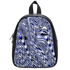 Aliens Music Notes Background Wallpaper School Bags (small)  by Nexatart