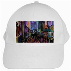 Downtown Chicago City White Cap