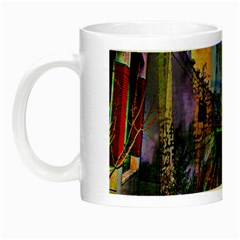 Downtown Chicago City Night Luminous Mugs