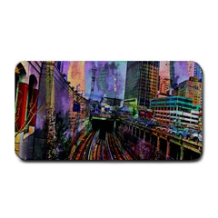 Downtown Chicago City Medium Bar Mats by Nexatart