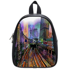 Downtown Chicago City School Bags (small)  by Nexatart