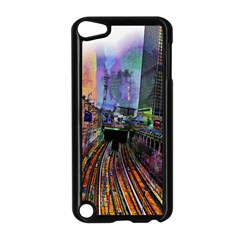 Downtown Chicago City Apple Ipod Touch 5 Case (black) by Nexatart