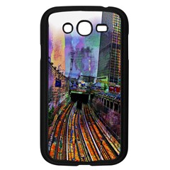 Downtown Chicago City Samsung Galaxy Grand Duos I9082 Case (black)