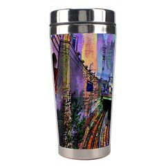 Downtown Chicago City Stainless Steel Travel Tumblers