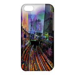 Downtown Chicago City Apple Iphone 5c Hardshell Case