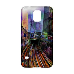 Downtown Chicago City Samsung Galaxy S5 Hardshell Case