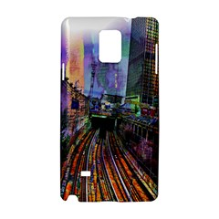 Downtown Chicago City Samsung Galaxy Note 4 Hardshell Case