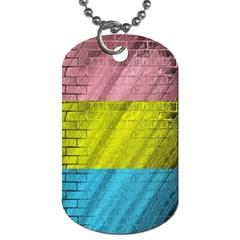 Brickwall Dog Tag (two Sides)