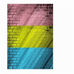 Brickwall Large Garden Flag (two Sides) by Nexatart