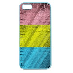 Brickwall Apple Seamless Iphone 5 Case (color)